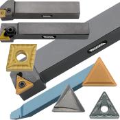 Værktøjsholdere, hårdmetalskær og øvrigt drejeværktøj