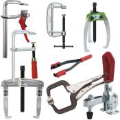 Aftrækkere, skruetvinger og holdeværktøj