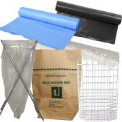Affaldsposer, affaldssække og -stativer