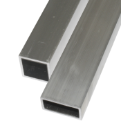 Firkantrør aluminium